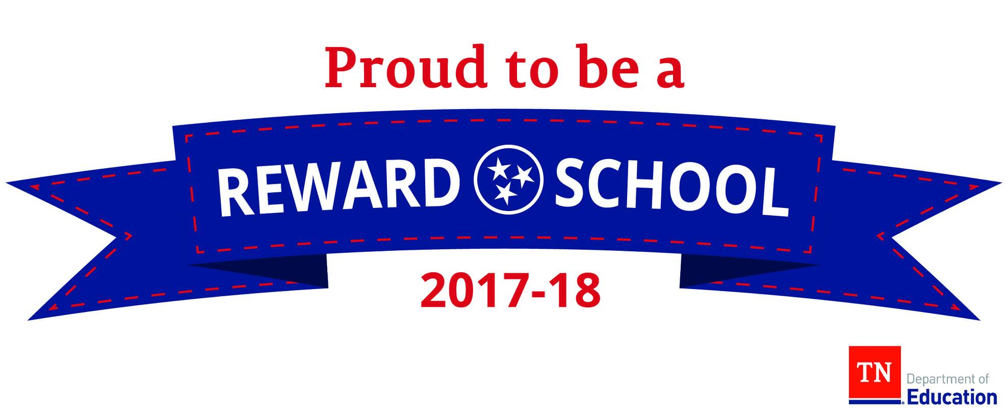 Proud to be a Reward School 2017-18